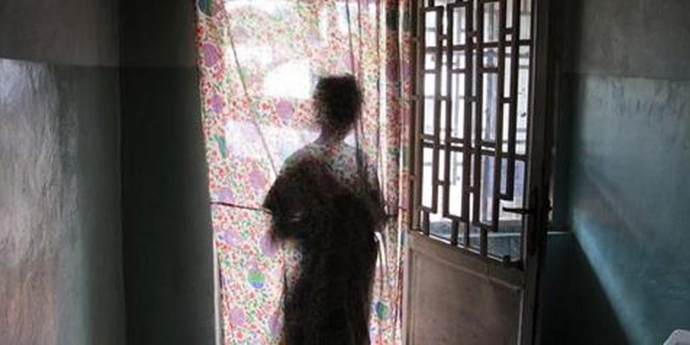 Une victime de viol de 15 ans, au Kivu, à l'est de la République démocratique du Congo. © AI