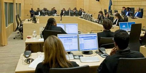 Le procès de Matthieu Ngudjolo à la CPI a commencé en 2009. © ICC-CPI/Marco Okhuizen