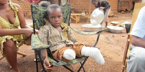 Les enfants ne sont pas épargnés par les violences de la Seleka. © Amnesty International