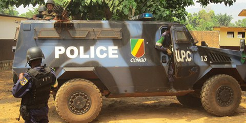 Les troupes de la MISCA n'arrivent pas à contenir les violences dans les quartiers de Bangui repris par les anti-Balaka. © AI