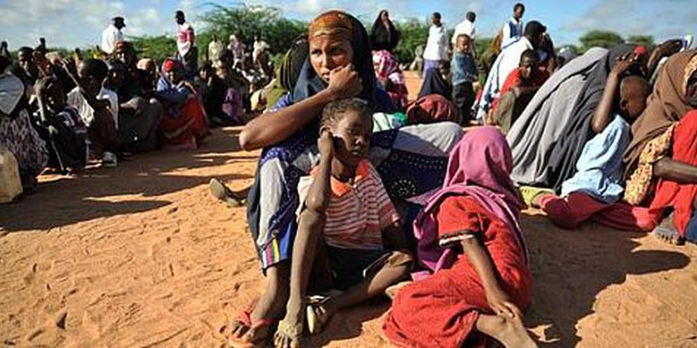 Près de 440 000 réfugiés, pour la plupart Somaliens, vivent dans les camps de Dadaab. © UNHCR/R. Gangale