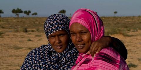 Des réfugiées somaliennes qui pourraient être renvoyées à tout moment. © www.marcsilver.net