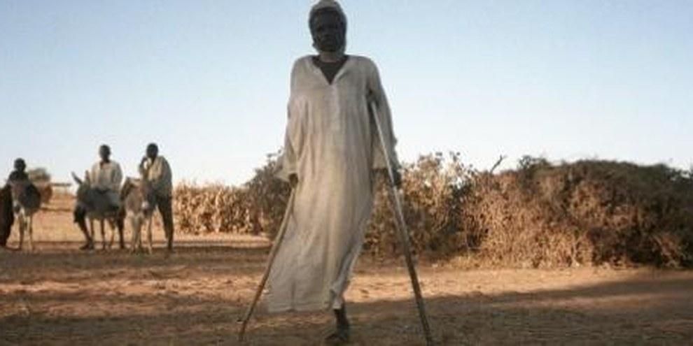 Ces hommes fuient les milices au Tchad. © AI