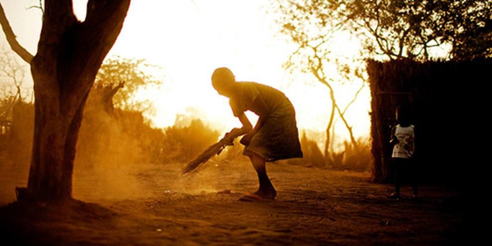 Des dizaines de milliers de réfugiés ont fui au Soudan du Sud, Yida, Avril 2012 ©  Pete Muller
