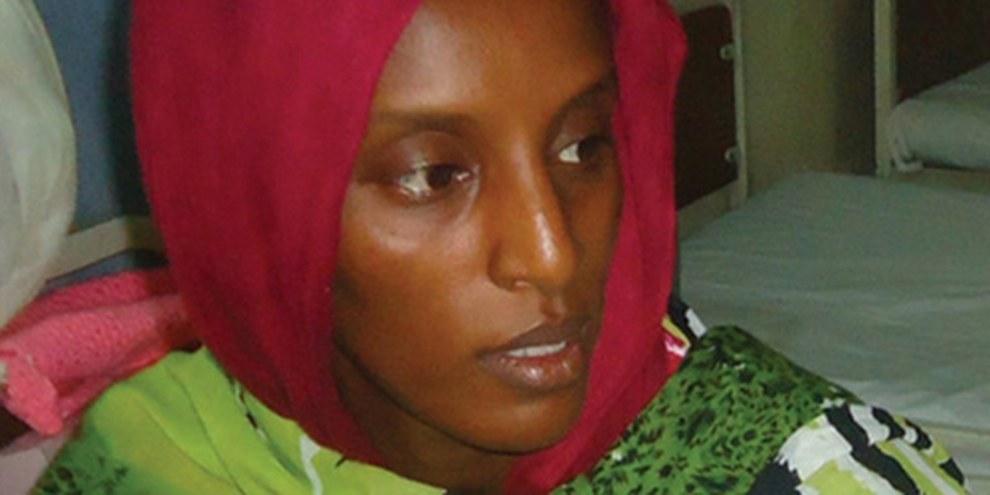 Meriam Yahia Ibrahim, une Soudanaise de 27 ans, avait été condamnée à mort pour «apostasie». © AFP/Getty Images