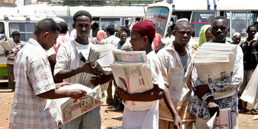 Le service soudanais de la sûreté et du renseignement contrôle la presse. © Getty images