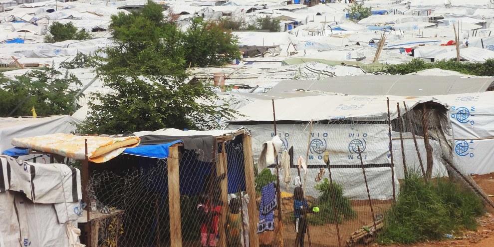 Camps de réfugiés autour de Juba, la capitale du Soudan du Sud © Amnesty International