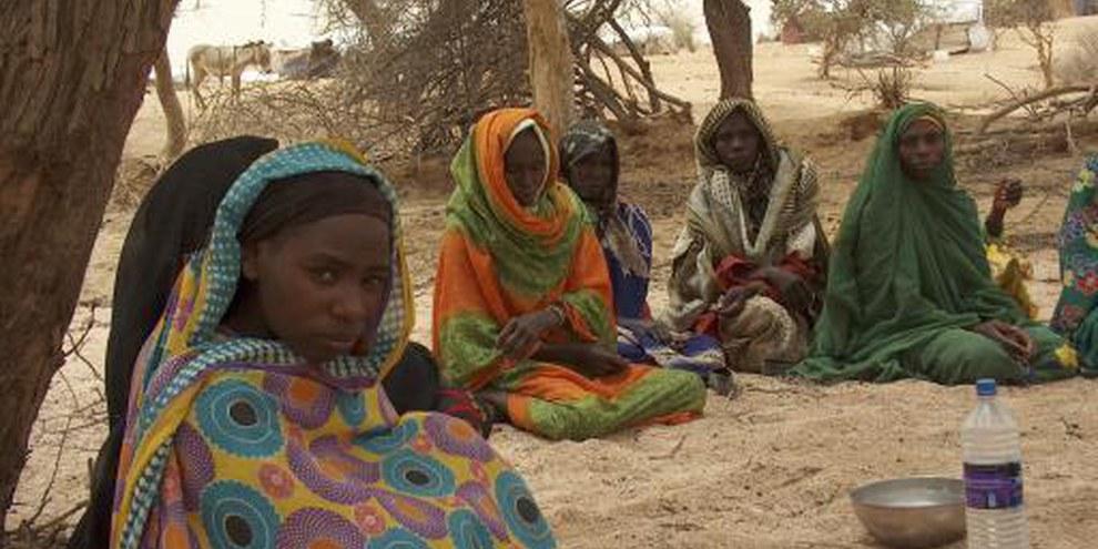 Réfugiées du Darfur au camps de Mile dans l'est du Tchad © AI