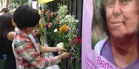 L'assassinat de la dirigeante autochtone Berta Cáceres représente un tournant meurtrier pour les défenseurs de l'environnement dans au Honduras et au Guatemala. © Amnesty International