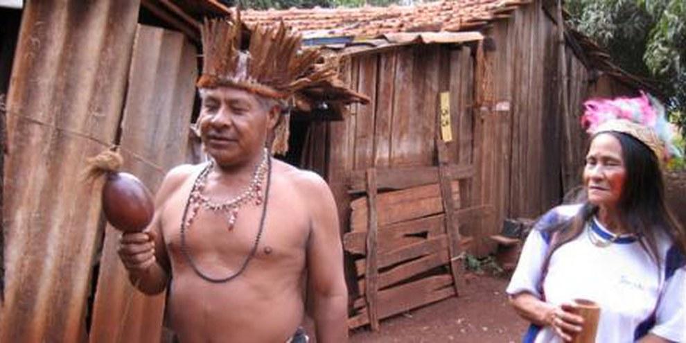 Le gouvernement s'est montré incapable de répondre aux revendications territoriales des communautés indigènes et les laisse dans la misère. © AI
