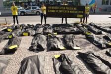 Des housses mortuaires pour les organisateurs de Rio 2016