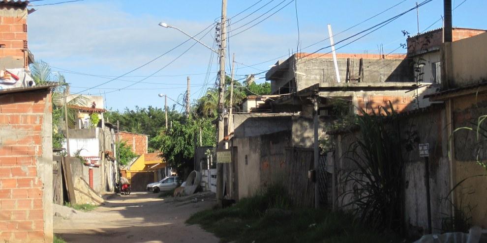 Le quartier Vila Autódromo était jadis habité par 600 familles, situé à côté du Parc olympique, la majorité d'entre elles ont été expulsées. © Amnesty International