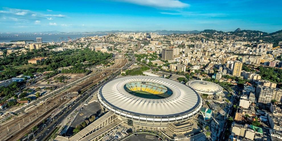 Vue aérienne du stade Marcana à Rio de Janeiro. © marchello74/iStock