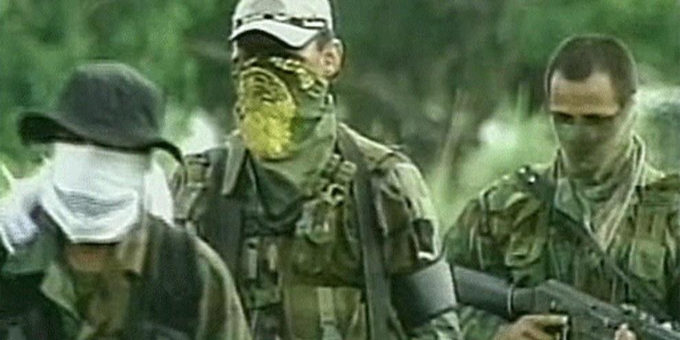 Des rebelles membres de la FARC. © APGraphicsBank