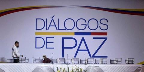 Les négociations de paix entre le gouvernement colombien et l'Armée de libération nationale (ELN), la dernière guerilla colombienne se sont ouvertes le 7 février 2017 en Équateur.© RODRIGO BUENDIA/AFP/Getty Images