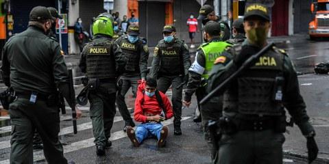 Intervention militarisée et répression policière des manifestations