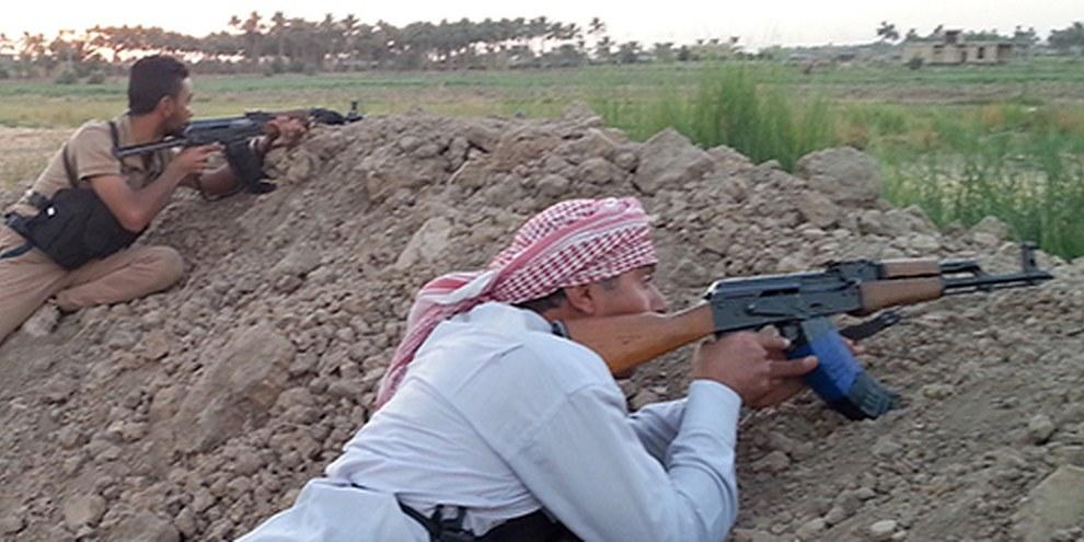 Les Etats-Unis pourraient livrer des armes aux opposants de l'EI, y compris à ceux qui auraient commis des exactions. © AZHAR SHALLAL/AFP/Getty Images