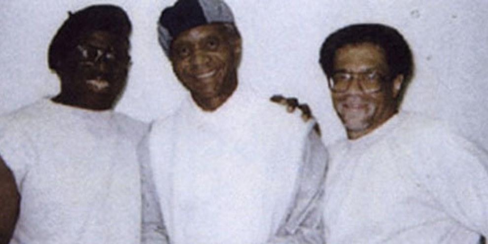 Herman Wallace, Robert King et Albert Woodfox ont été inculpés du meurtre de Brent Miller, sans aucune preuve matérielle. © www.Angola3.org