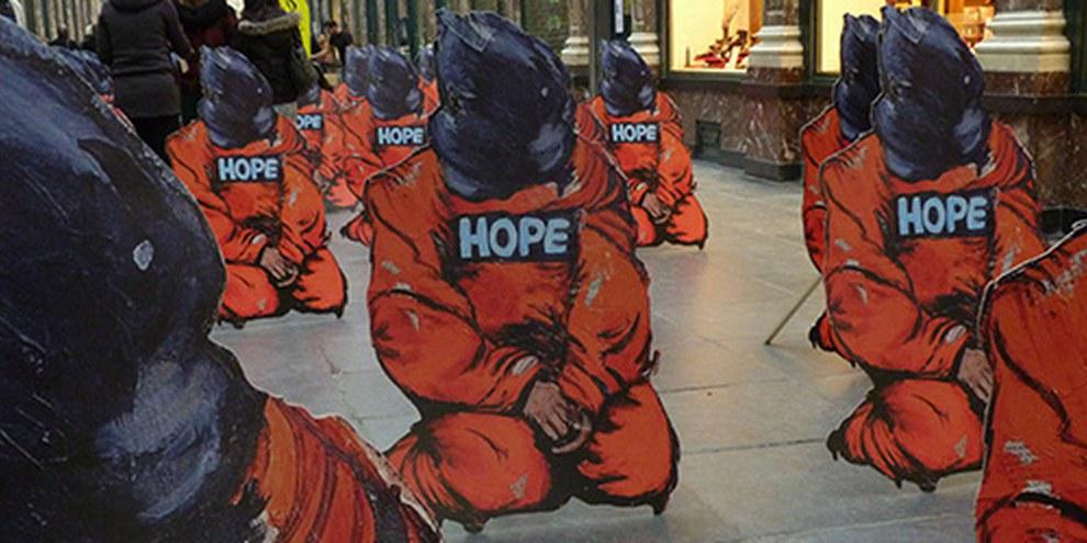 Les États-Unis doivent mettre à profit leur passage devant le Comité de l'ONU contre la torture afin de s'engager à rendre justice aux victimes de torture et disparitions forcées. © Amnesty International.