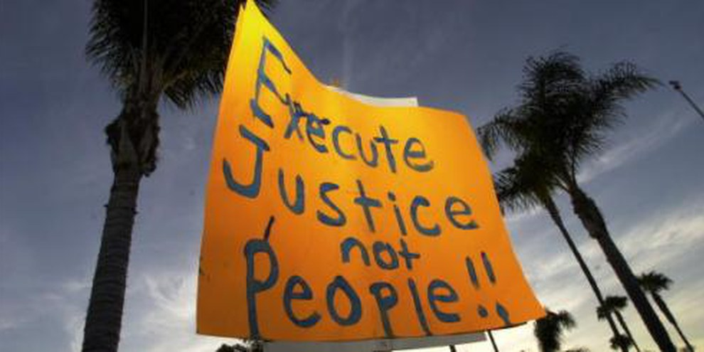 Rendre justice, non à la peine de mort © AI