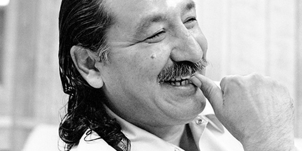 Leonard Peltier. © Courtesy of Jeffry Scott