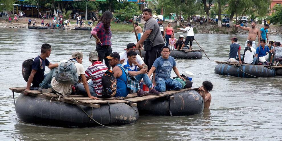 Les personnes en quête de protection sont bien souvent traitées de manière inhumaine © Amnesty International