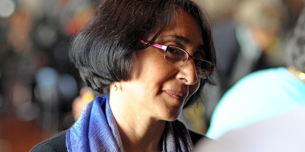 Norma Cruz, avril 2011 © Amnesty International