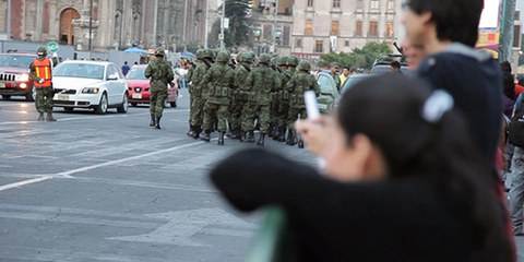 Amnesty International constate augmentation des cas de graves violations commises par l'armée méxicaine. © Amnesty International,
