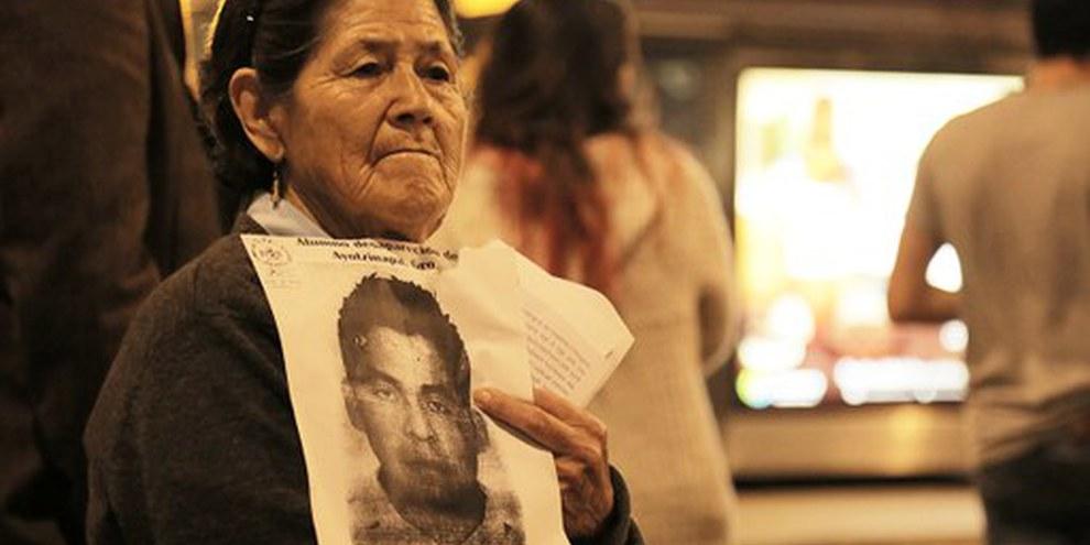 L'enquête sur ces disparitions forcées a été incomplète, les autorités n'ont pas cherché à remettre en cause la collusion persistante entre l'État et le crime organisé. © Alonso Garibay / Amnistía Internacional México