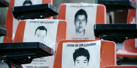 43 étudiants ont totalement disparu depuis le 26 septembre 2014 © Telesur