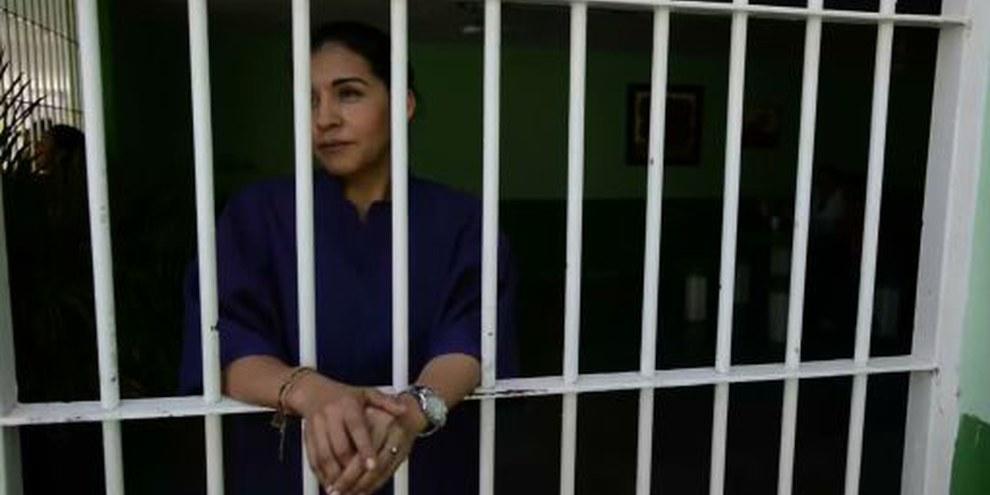 Yecenia Armenta Graciano toujours en prison, Mexique. Avril 2015. © Amnesty International