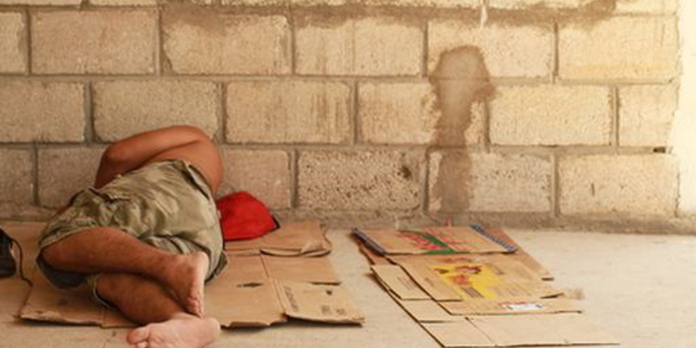 Les autorités doivent enquêter sur la vague révoltante d'attaques et de meurtres visant des migrants, Mexique 2010. © Marc Silver