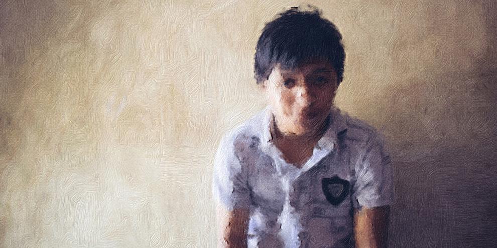 José Adrián, arrêté arbitraitement à 14 ans. La police au Mexique détient régulièrement des citoyen·ne·s de manière arbitraire en vue de leur extorquer de l'argent ou de montrer qu'elle est active face à la criminalité. © Amnesty International/Sergio Ortiz Borbolla