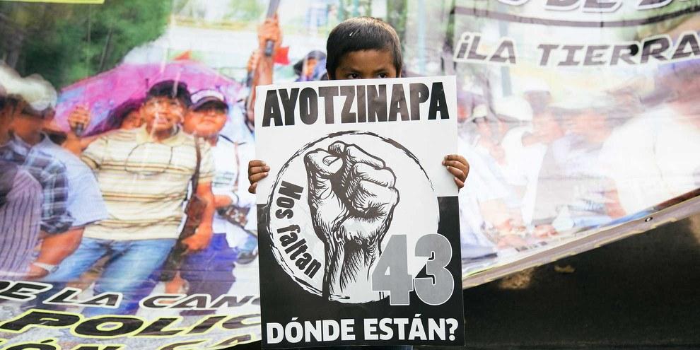 Où sont-ils? Protestation à Mexico © Itzel Plascencia López / Amnesty International Mexico