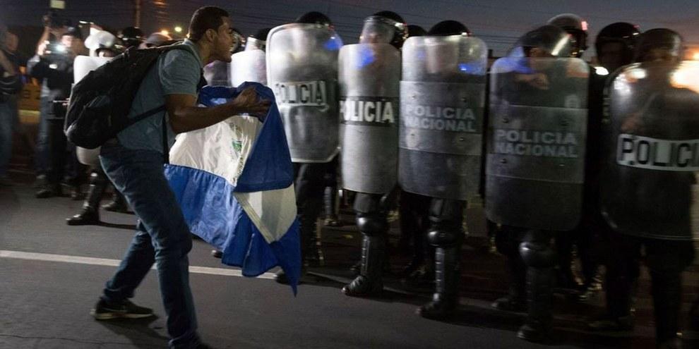 Manifestation au Nicaragua le 18 avril 2018. © Carlos Herrera, Amnesty International