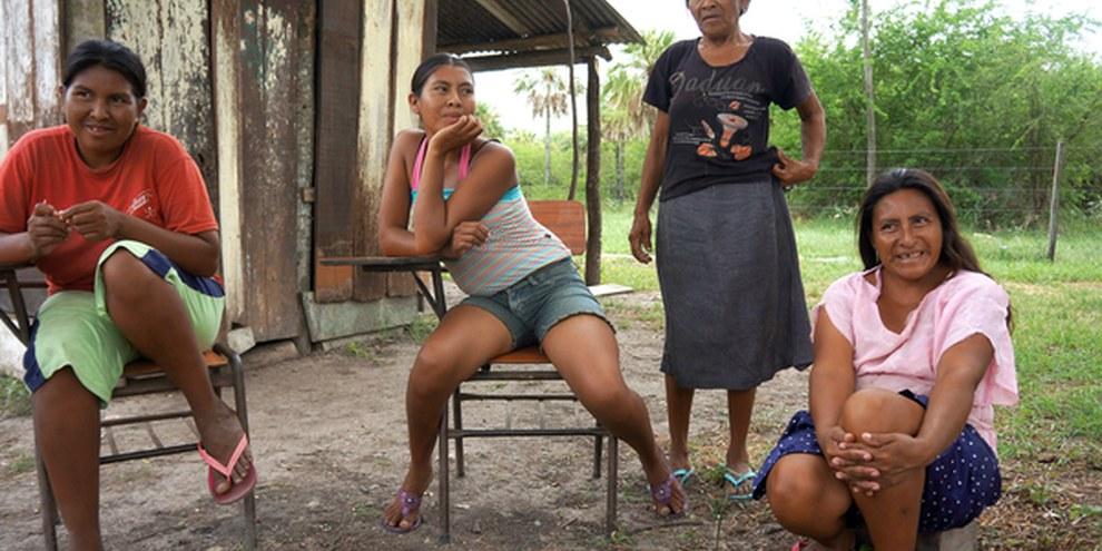 Membres de la communauté Sawhoyamaxa © Amnesty International