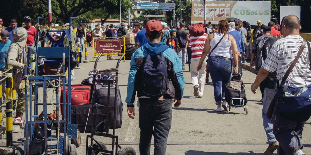 Migrant·e·s vénézuélien·ne·s © Amnesty International/Sergio Ortiz