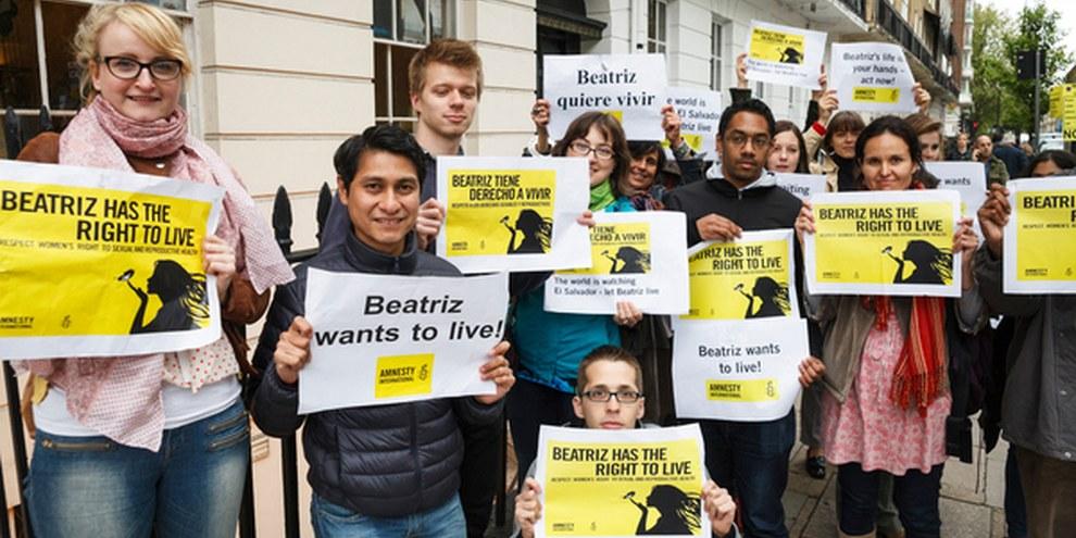 Des mouvements de solidarité ont éclos partout dans le monde. © Amnesty International