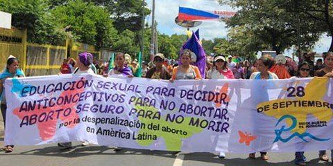 Dans de nombreux pays d'Amérique latine, l'interdiction d'avorter est totale. © AI (photo: Grace Gonzalez)