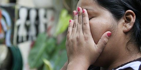 La loi sur l'avortement au Salvador est si restrictive que les femmes ayant subi une fausse couche risquent d'être poursuivies et emprisonnées. © AI