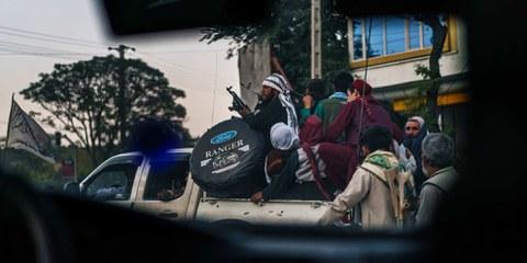 Après la prise de pouvoir par les talibans, plusieurs civils ont été tués © MARCUS YAM / LOS ANGELES TIMES