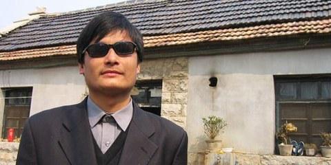 Chen Guangcheng s'était enfui de sa résidence surveillée. © DR