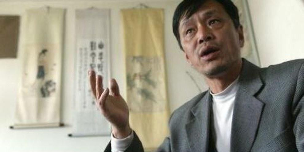 Ye Guozhu, photographié en 2004 avant sa détention de quatre ans. © Ng Han Guan/AP/PA Photo