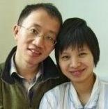 Hu Jia et son épouse Zeng Jinyan, novembre 2011.   © DR