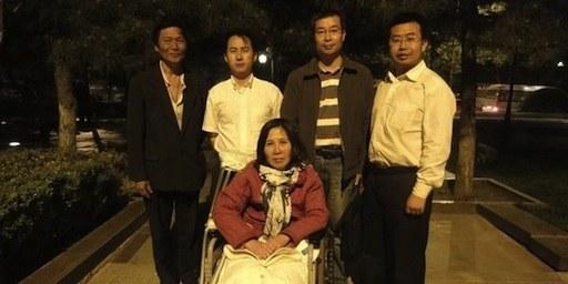 L'activiste pour le droit au logement Ni Yulan a été emprisonnée à la suite de fausses accusations .© DR