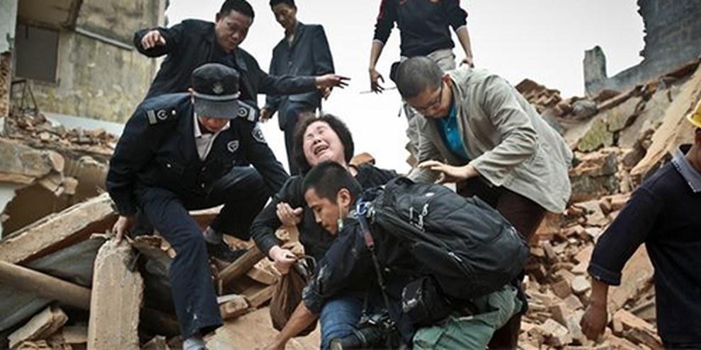 Croulant sous les dettes, les autorités ont de plus en plus recours aux évacuations forcées. © Benjamin gz - Imaginechina