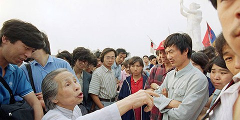 L'année 2014 a été marquée par une répression importante contre les personnes réclamant des réformes. © Hong Kong Alliance in Support of PDMC