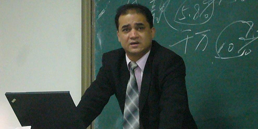 Ilham Tohtia été condamné à perpétuité pour «séparatisme», le 23 septembre 2014. © Droits réservés