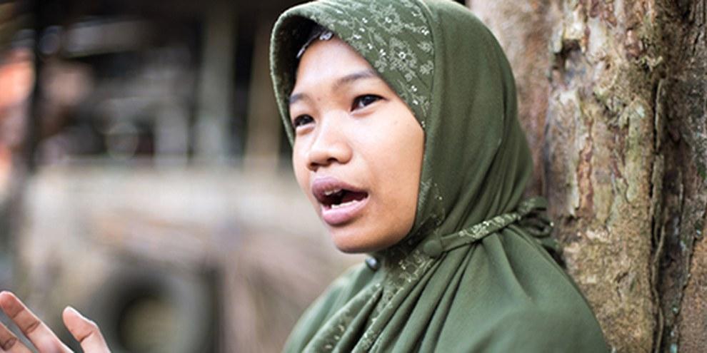 Environ 150 000 employées domestiques indonésiennes travaillent à Hong Kong dans des conditions souvent misérables. © Robert Godden / AI