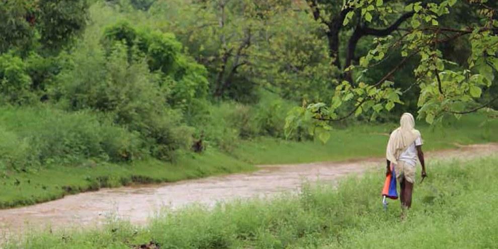 Dans trois mines de Coal India le gouvernement central a acquis des terres sans en informer les familles affectées et sans les consulter sur d'éventuelles mesures de compensation et de réinstallation. © Amnesty International India